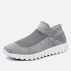 Ericdress Mesh EVA Slip-On High-Cut Men's Sneakers