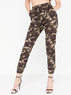 Ericdress Camouflage Women's Casual Pants
