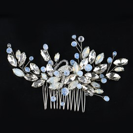 Ericdrsss Rhinestone Bride Wedding Hair Accessories