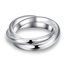 Ericdress Cross Plain Wedding Ring