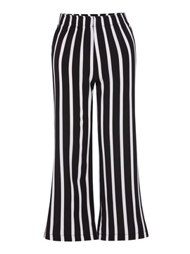 Stripe Loose Wide Legs Women's Casual Pants