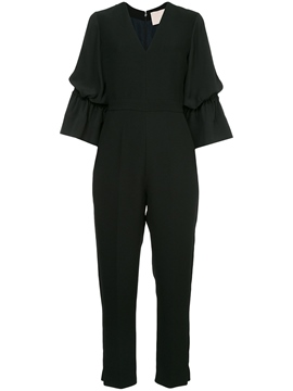 Ericdress Plain Ruffles Women's Jumpsuit
