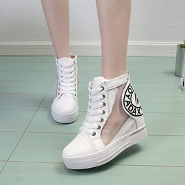 Ericdress Platform Print Mesh High-Cut Women's Sneakers