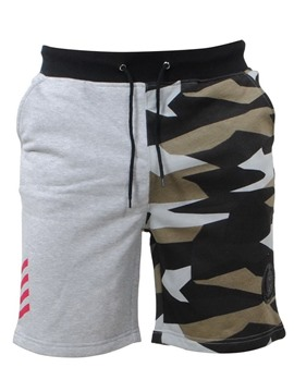 Ericdress Camouflage Color Block Lace Up Mens Casual Sports Shorts