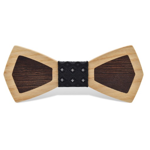 Ericdress Wooden Joint Bow Tie