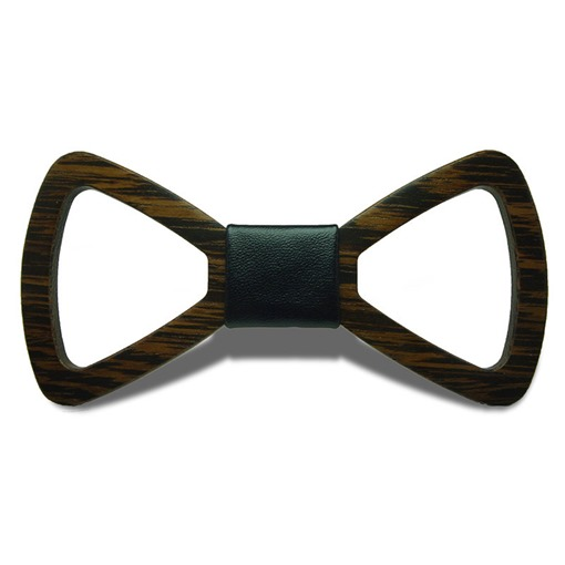 Ericdress Hollow Out Wooden Bow Tie
