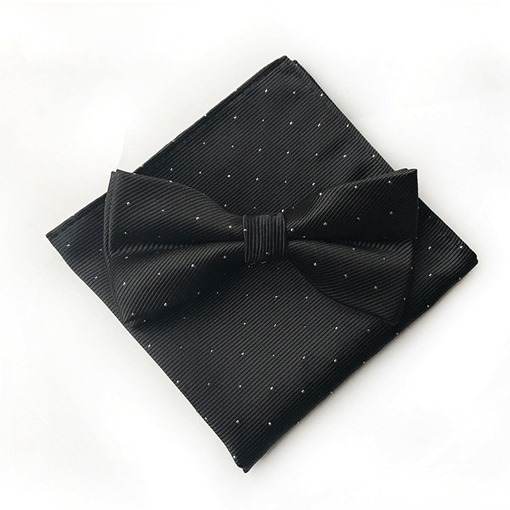 Ericdress Wave Point Bow Tie Set