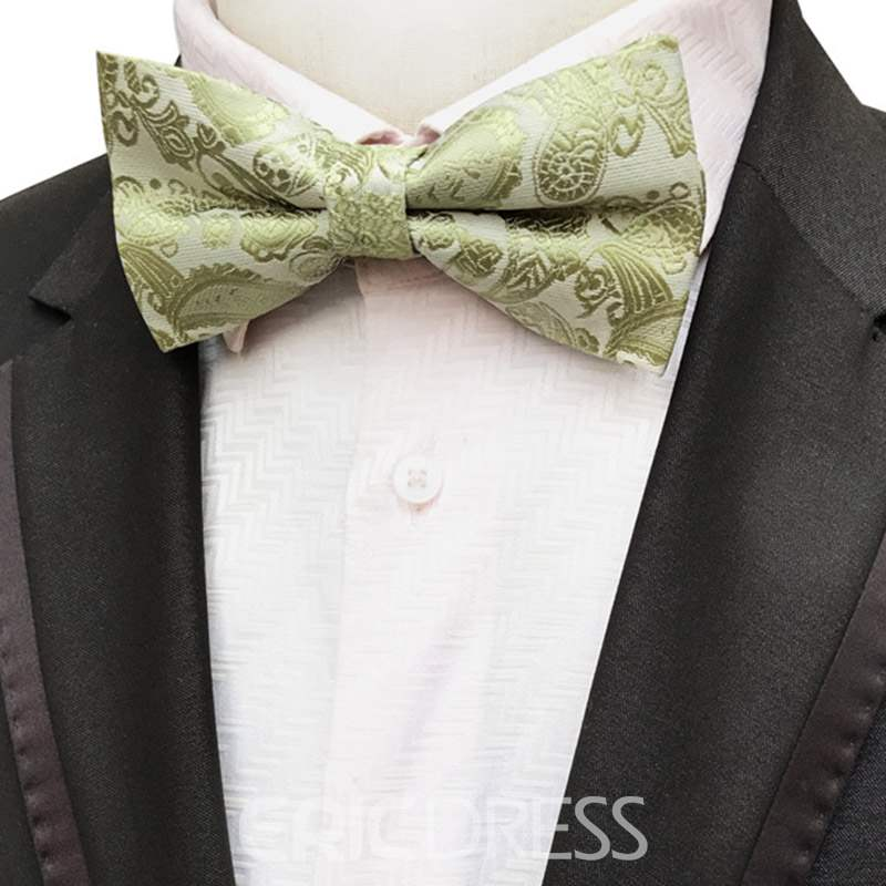 Ericdress Paisley Pure Color Bow Tie
