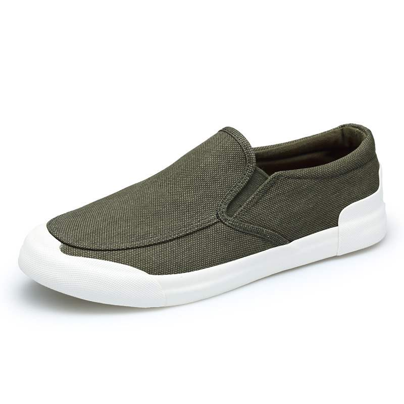Ericdress Canvas Slip-On Round Toe Men's Loafers