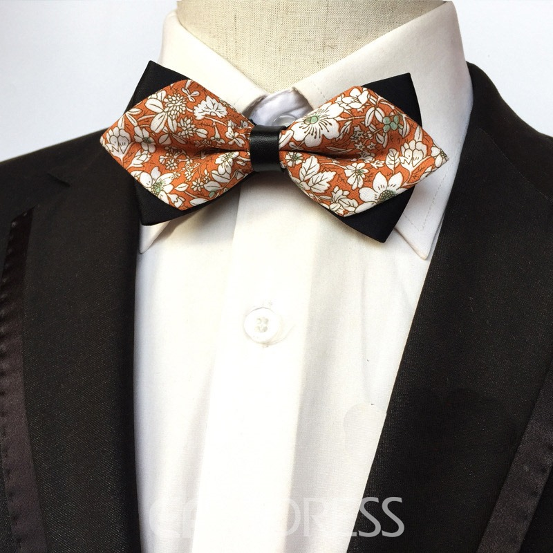 Ericdress Cotton Printing Bow Tie