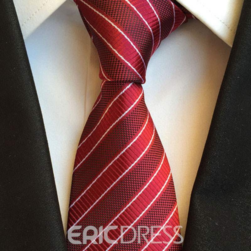 Ericdress Check Men Tie