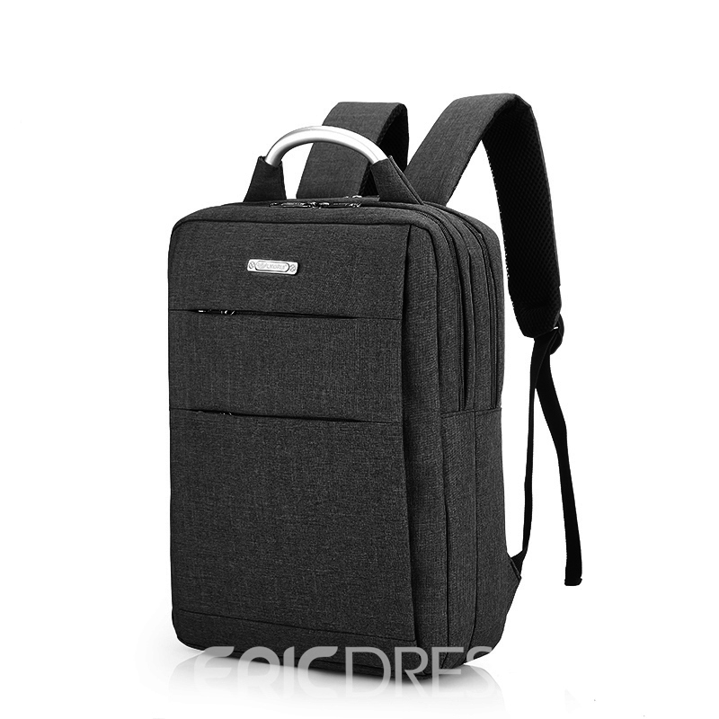Ericdress Oxford Zipper Unisex Backpack