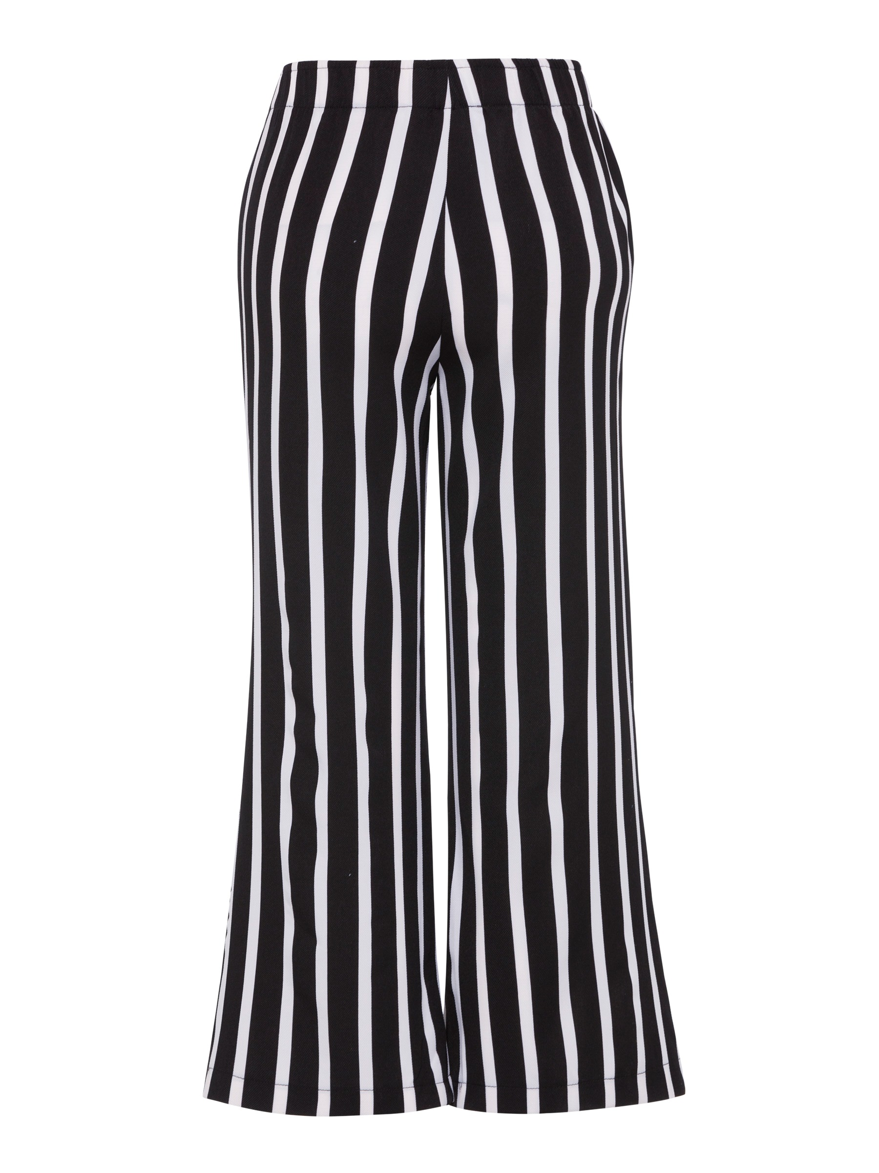 Stripe Loose Wide Legs Striped Women's Casual Pants