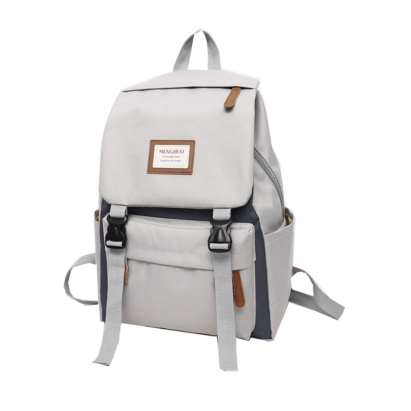 Ericdress Oxford Color Block Women Backpack