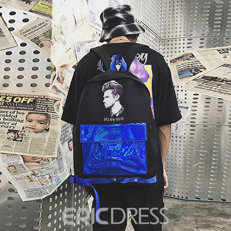 Ericdress Fashion Color Block Backpack