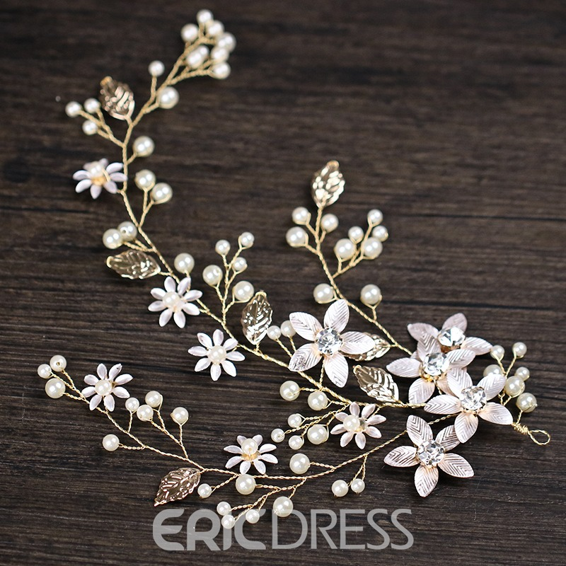 Ericdress Pearl&Shell Wedding Hair Band Accessories