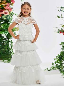 714b9f8d1c White Flower Girl Dresses   Cheap Dresses for Flower Girls ...