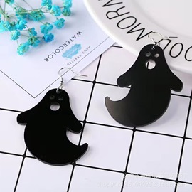 Ericdress Halloween Ghost Acrylic Earrings
