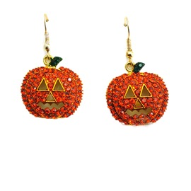 Ericdress Halloween Pumpkin Earrings