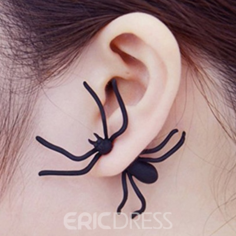 Ericdress Halloween Araneid Earrings