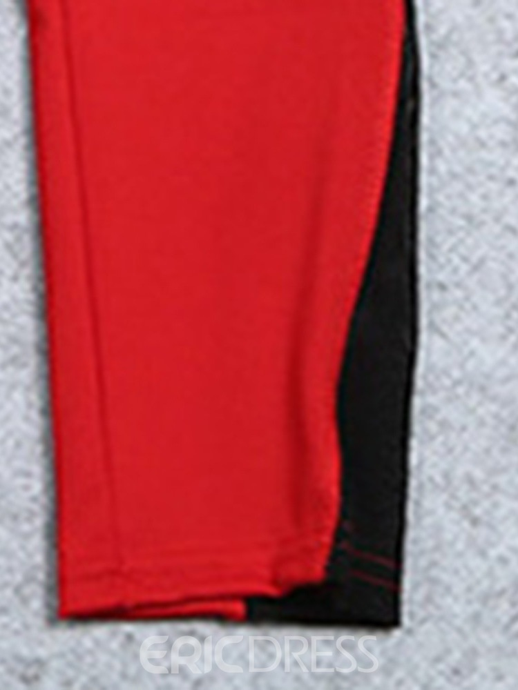 Ericdress Color Block Polyester Patchwork Yoga Pants