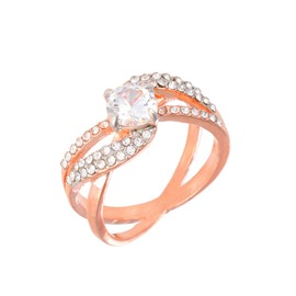 Ericdress Diamante Ring