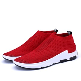 Ericdress Mesh Mid-Cut Upper Slip-On Men's Sneakers