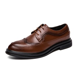 Ericdress Low-Cut Upper Lace-Up Men's Oxfords