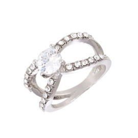 Ericdress Zircon Diamante Ring