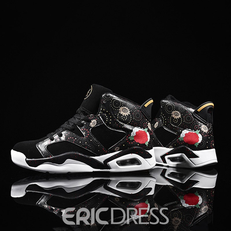 Eriicdress High-Cut Upper Lace-Up Men's Sneakers