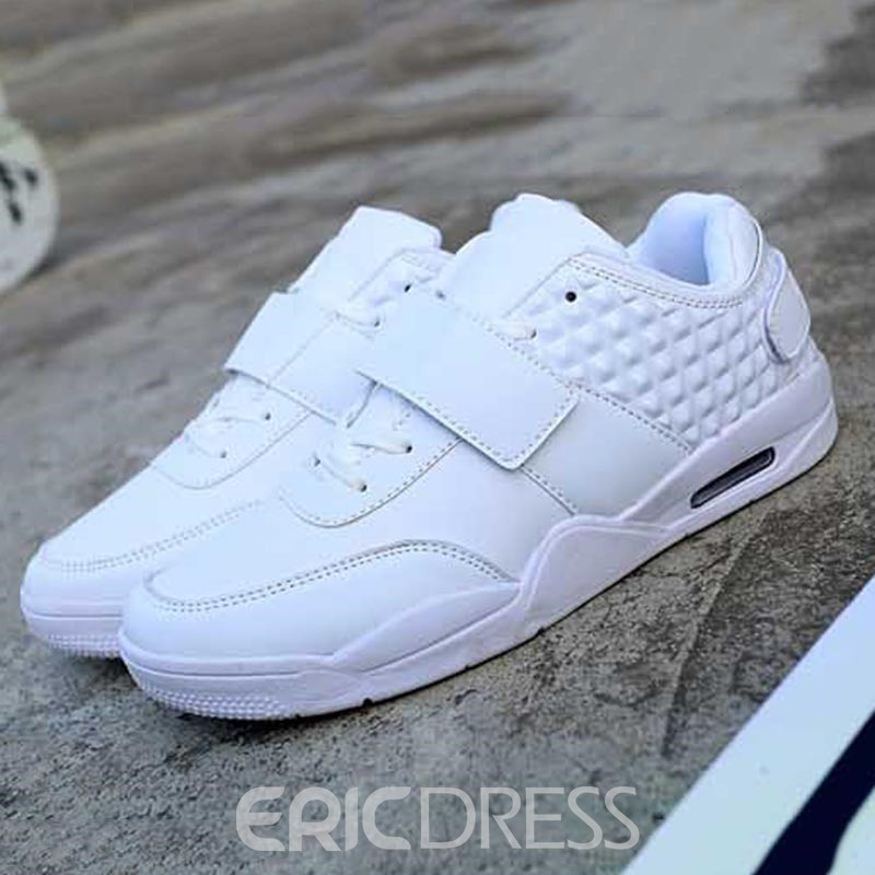 Ericdress PU Plain Low-Cut Upper Men's Sneakers