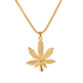 Ericdress West Coast Leaf Pendant Necklace