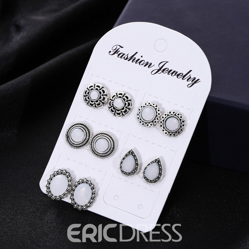 Ericdress Vintage Opal Fashion Earrings