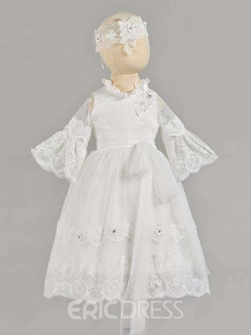 Ericdress A Line Lace Christening Gown
