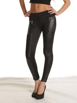 ericdress pantalon de legging stretch taille haute