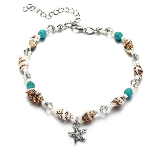Ericdress Conch Beads Anklets