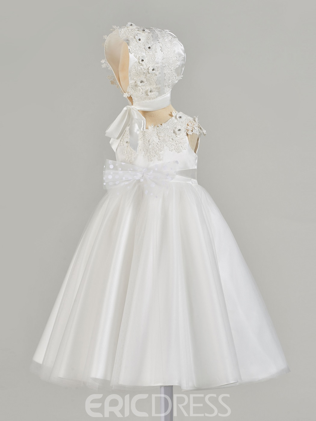 Ericdress A Line Applique Baby Girl's Christening Gown