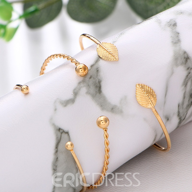 Ericdress Leaf Bracelets For Women