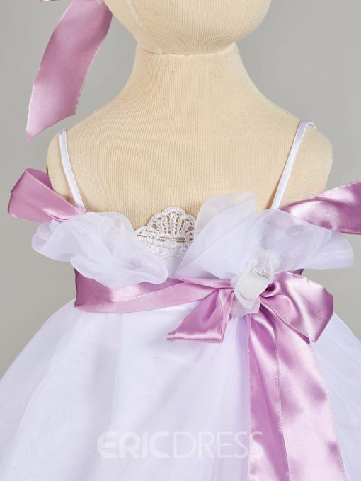 Ericdress A Line Baby Girl's Christening Gown With Belt