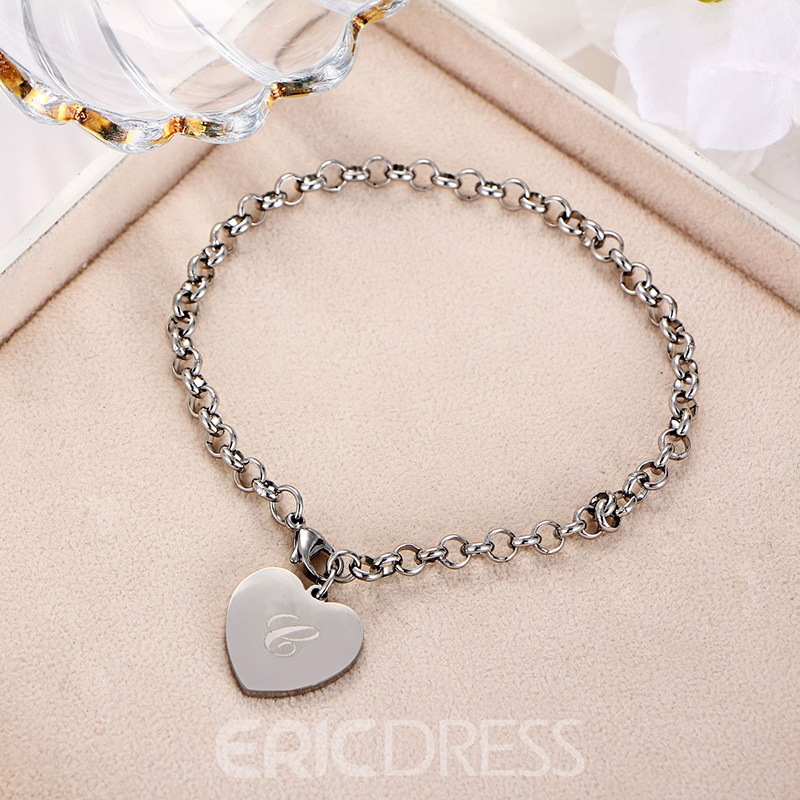 Ericdress New Style Heart Anklets