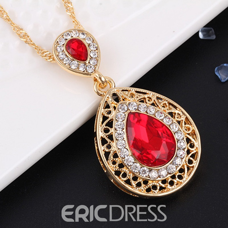 Ericdress Crystal Drop Earrings