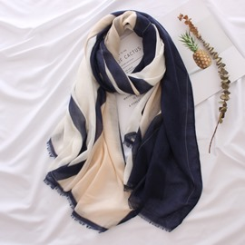 Ericdress Multicolor Soft Scarf For Women