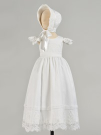 Ericdress A Line Cap Sleeve Lace Girl's Christening Gowns