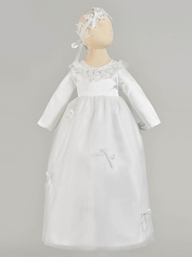Ericdress A Line Long Sleeve Girl's Christening Gown