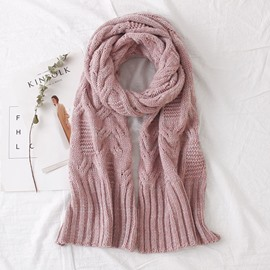 Ericdress Pure Color Knitting Scarf