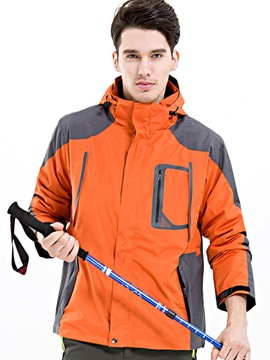 Ericdress Climbing Windproof Polyester Male Two-Piece Suit Tops