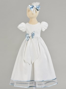 Ericdress Short Puffle Sleeve Baby Girl's Christening Gown