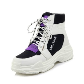 Ericdress Mesh Lace-Up Women's Sneakers