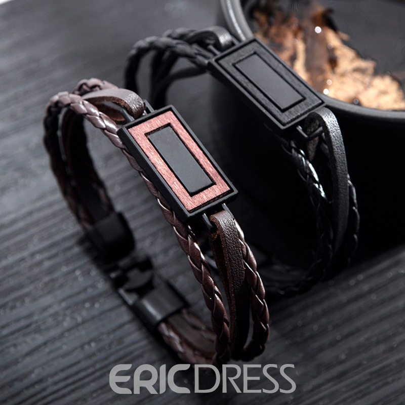 Ericdress Knit Square Men's Bracelets