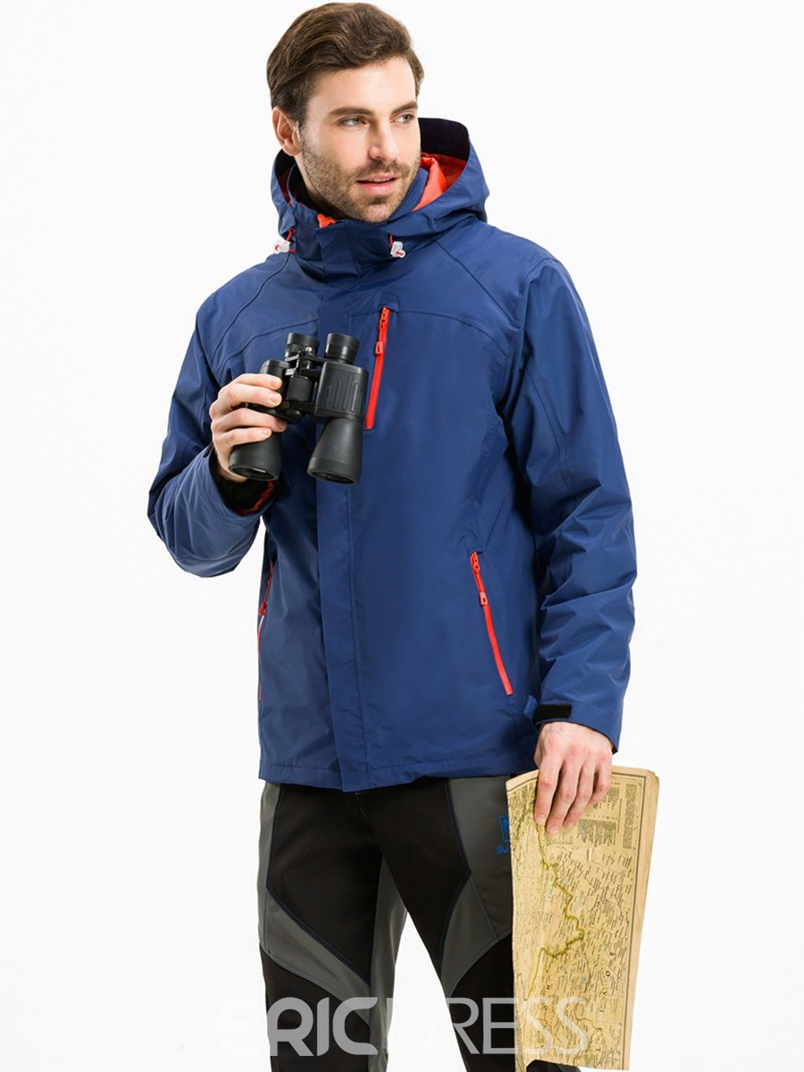 Ericdress Breathable Hiking Male Two-Piece Suit Tops